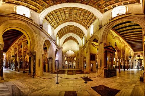 Михраб как часть композиции Кордовской мечети
