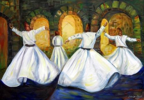 суфийский танец дервишей