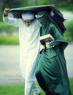 муж и жена мусульмане