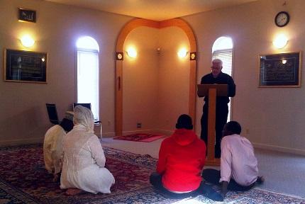 никях в мечети