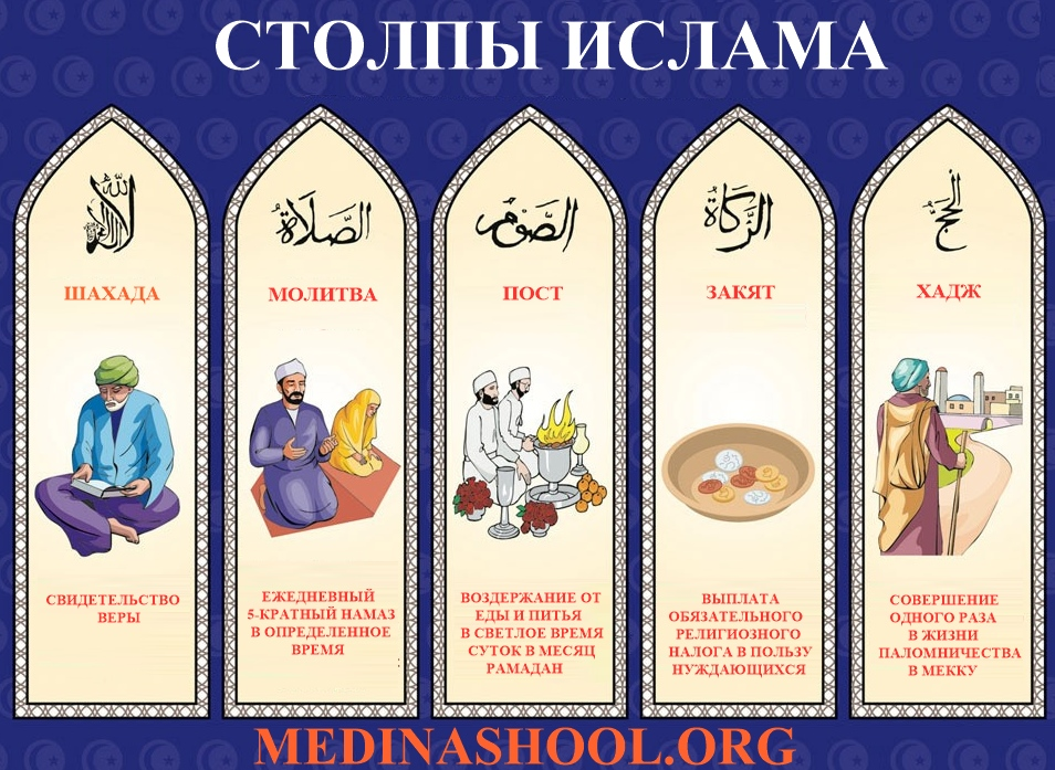 5 столпов ислама