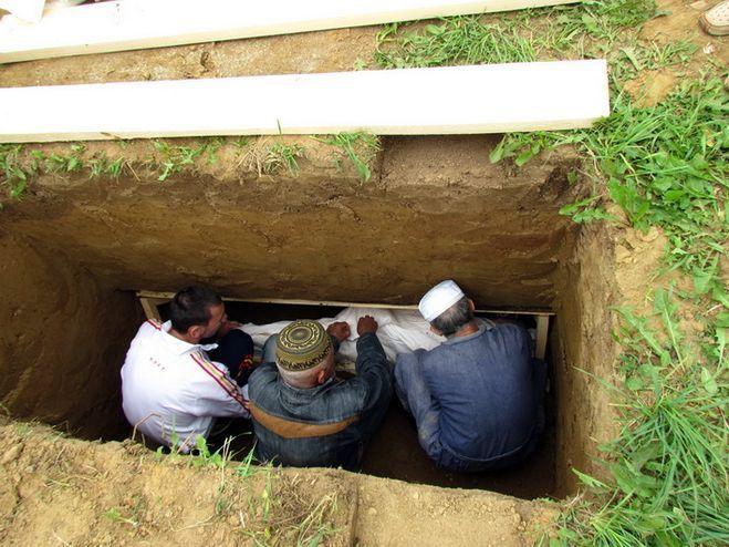 похороны в исламе