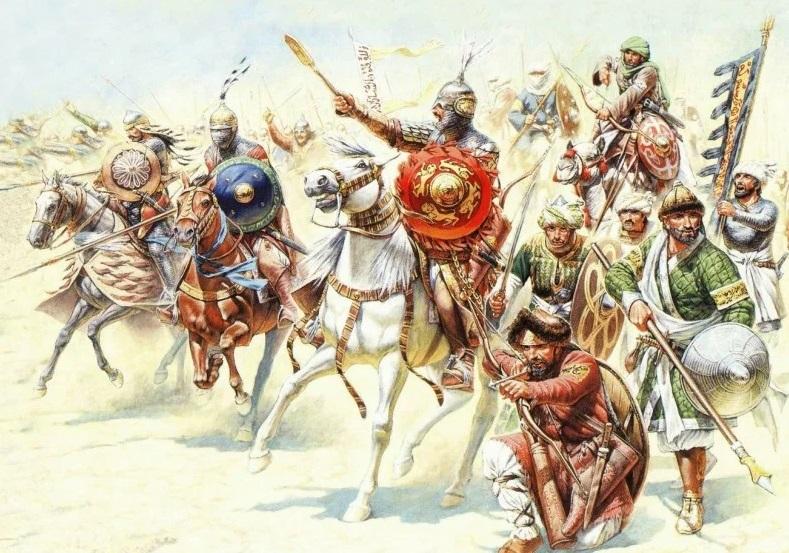 арабские воины Халифата